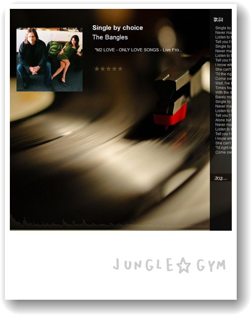 The Bangles - Single by choice - MusicBee 20140130 181707